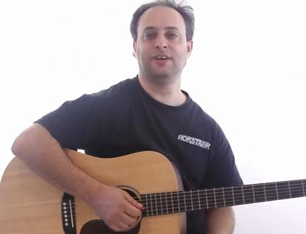How to play the guitar chords from `Clocks´ by Coldplay