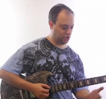 black sabbath riff - electric guitar lesson