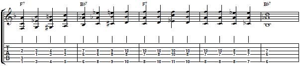3 Note Chords for Blues Comping - Blues Guitar Lesson on 3 Note Chords