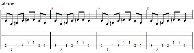 How to Play `You Give Love a Bad Name´ by Bon Jovi - Rhythm Guitar Lesson