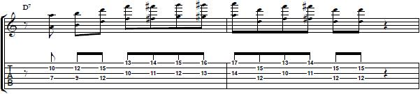 Guitar Lick with Octaves in the Style of George Benson - Lead Guitar Lesson