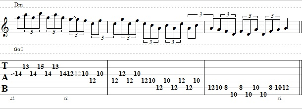 Blues Guitar Lick in the Style of Eric Clapton – Lead Guitar Lesson on Blues Licks