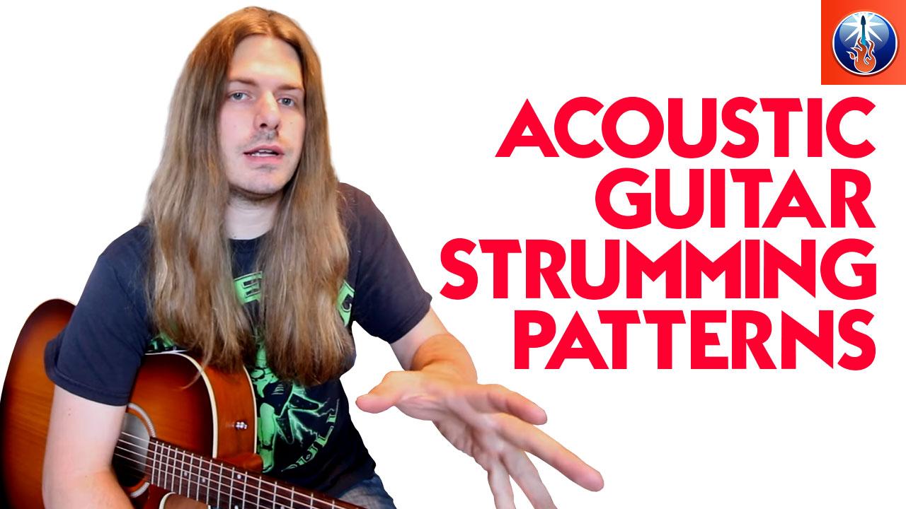 Acoustic Guitar Strumming Patterns Unique Design