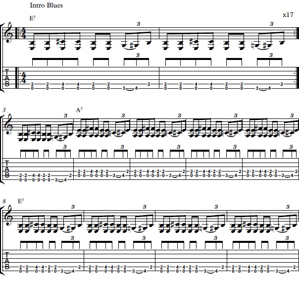 Bring It on Home Chords - How to Play Bring It on Home by Led Zeppelin