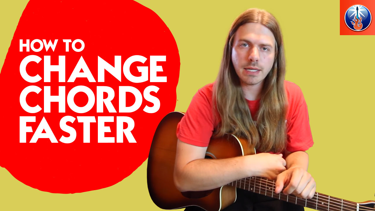 How To Change Chords Faster Simple Guitar Chord Changing Exercises