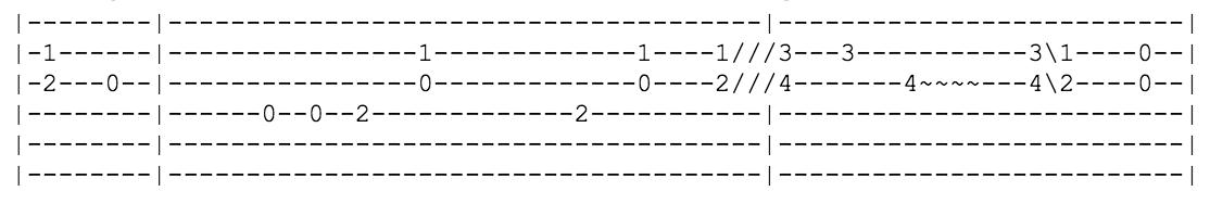 Take It Easy Guitar Tab