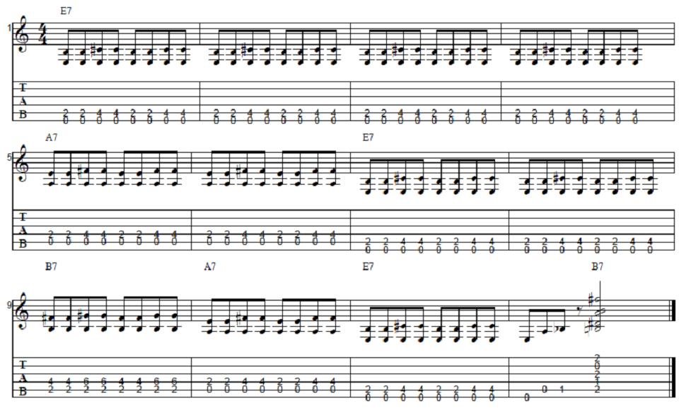 Beginner Blues Guitar Lesson | Guitar Control