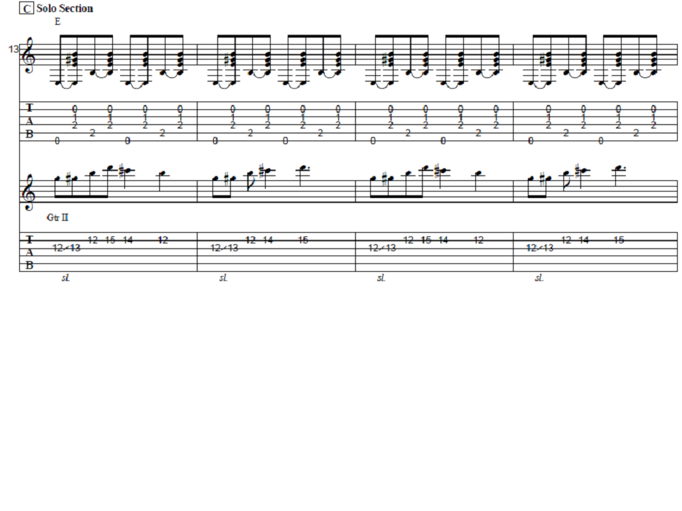 Folsom Prison Blues Guitar Tab