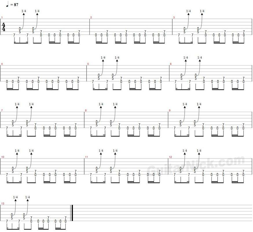 how to learn electric guitar notes