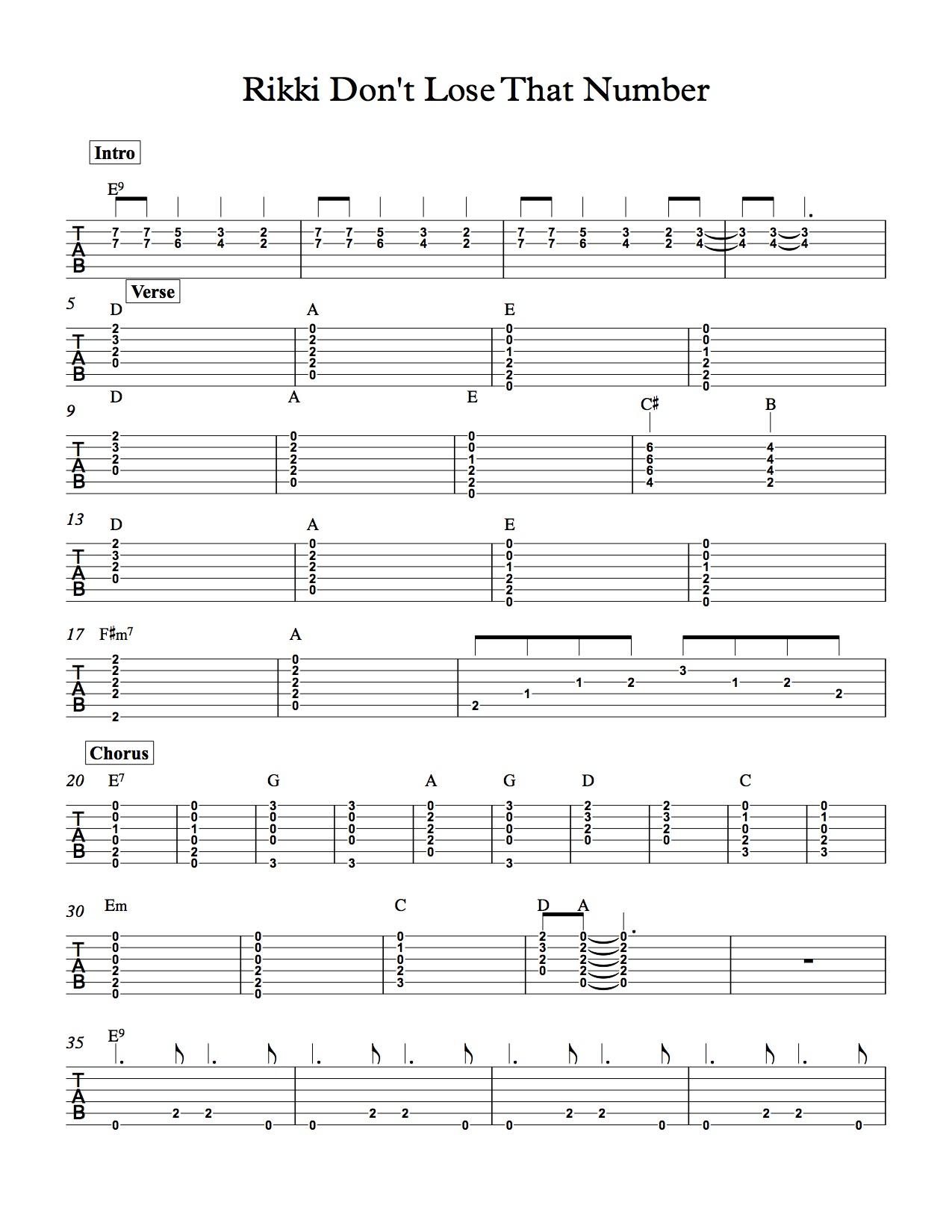 Peaceful Easy Feeling Chords Guitar The Eagles Peaceful Easy