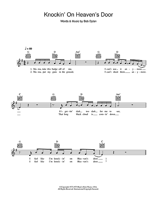 simple guitar songs