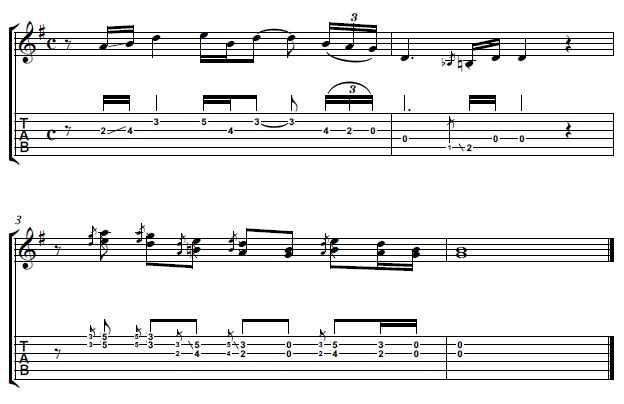 Lead Guitar Part From Wish You Were Here by Pink Floyd
