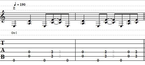Cool Blues Guitar Riff in E - Guitar Lesson on Blues Riffs