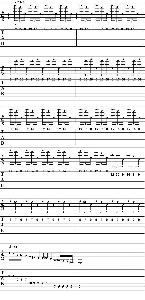 Learn How to Play the Intro For Silent Lucidity by Queensrÿche