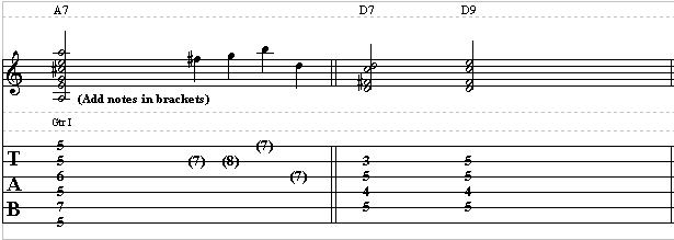 Acoustic Blues Guitar Lesson - How to Spice Up a Blues Chord Progression