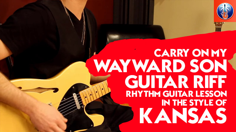 How to Play Carry On My Wayward Son