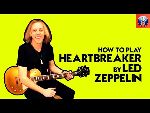 how to play heartbreaker by led zeppelin on guitar video. Black Bedroom Furniture Sets. Home Design Ideas