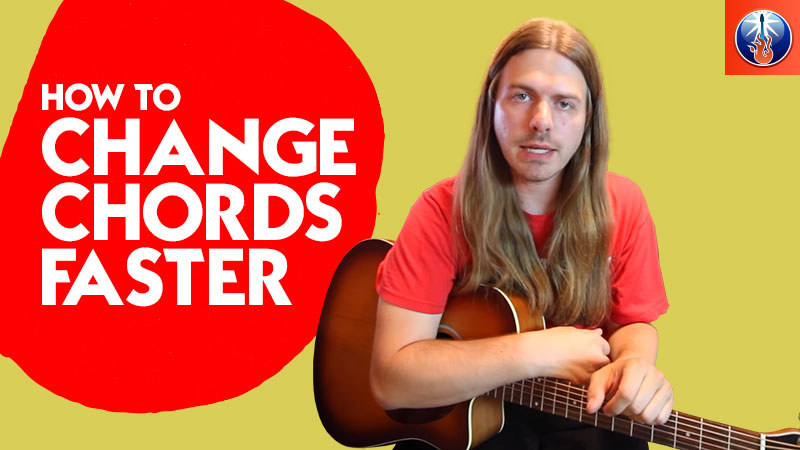 How to Change Chords Faster - Simple Guitar Chord Changing Exercises