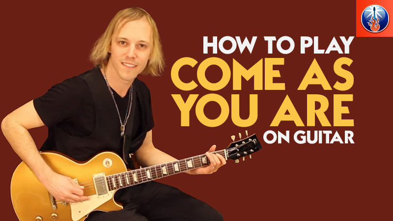 How to Play Come As You Are On Guitar