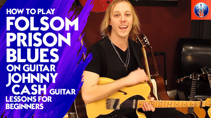 How to Play Folsom Prison Blues On Guitar