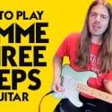 Lynyrd Skynyrd Guitar Lesson