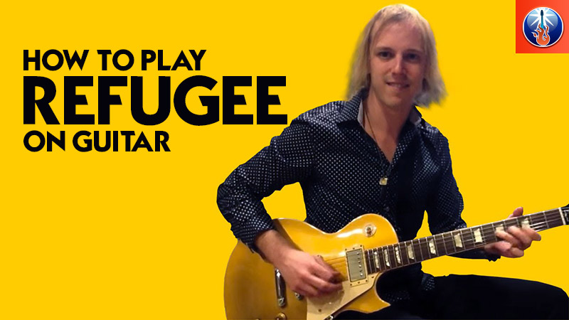 How to Play Refugee On Guitar