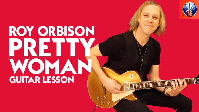 Simple Roy Orbison Guitar Lesson