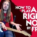 How to Play All Right Now On Guitar