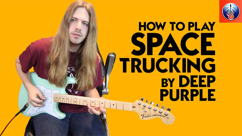 Deep Purple Space Truckin' Lesson
