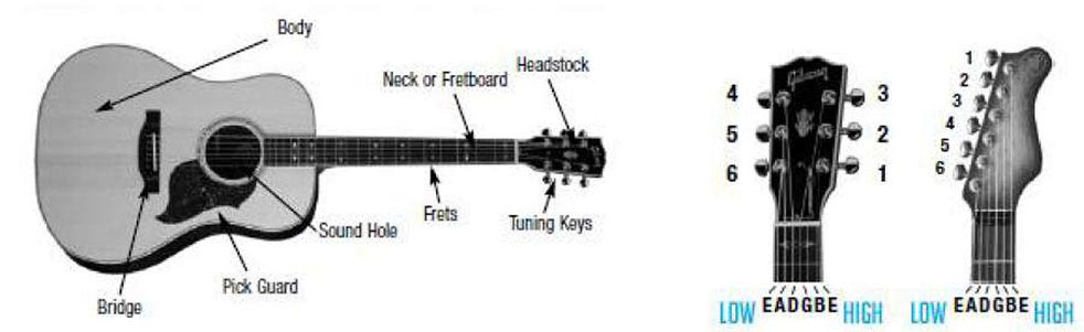 Guitar String Names and Acronyms to Help You Memorize Them